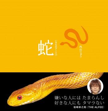 いきものアート蛇